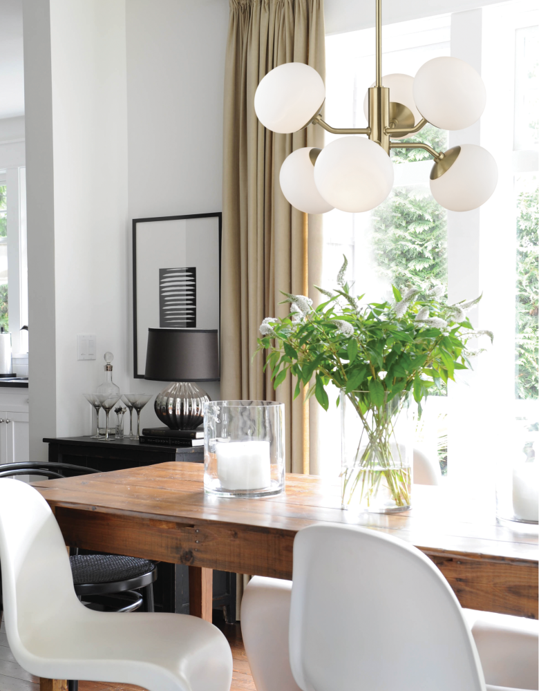 This Gallery Contains Examples Of How Modern Lighting Can Spice Up A  Transitional Décor. The Right Lighting Can Compliment And Highlight The  Contemporary ...