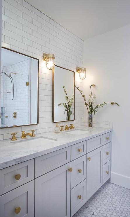 Bathroom lighting modern lighting design placement is key secondary baths and powder rooms can be lit more simply this gallery shows both master bath and secondary lighting ranging from clean aloadofball Gallery