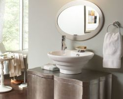 Secondary baths and powder rooms can be lit more simply. This gallery shows both master bath and secondary lighting ranging from clean contemporary to ... & Modern Lighting Design | Bathroom Lighting azcodes.com